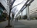 Tama Toshi Monorail near Tachikawa station - march7-2016.jpg
