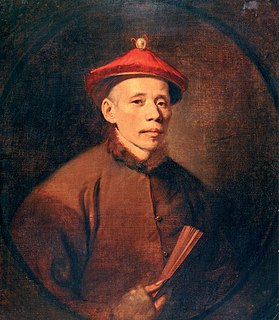Tan-Che-Qua Artist from China who visited London in the 18th century
