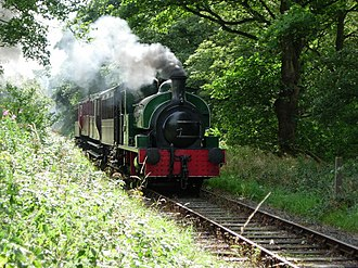 Tanfield Railway - Image: Tanfield railway pic 1