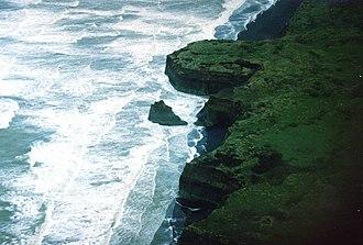 South Taranaki Bight - Taranaki coast near Patea, 2005