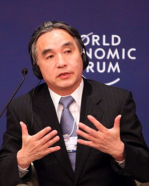 Reconstruction Agency - Tatsuo Hirano, former Minister of State for Disaster Management, at the World Economic Forum on East Asia 2012