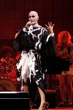 Taylor Mac - Taylor Mac performing at Celebrate Brooklyn! in August 2015