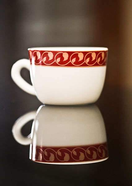 File:Tea Cup with reflection.jpg
