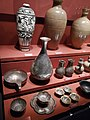 Teapots, silver bowls and silver jars, Song dynasty, Hunan Museum.jpg