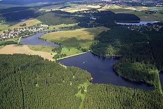 Upper Harz Water Regale - Image: Teiche Buntenbock