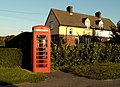 Telephone Box in a road called The Soils - geograph.org.uk - 274156.jpg
