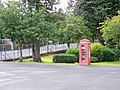 Telephone box, Peebles - geograph.org.uk - 1558480.jpg