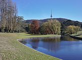 Telstra Tower from ANU campus, Canberra Australia.jpg