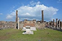 Il Tempio di Apollo, edificato nel periodo etrusco