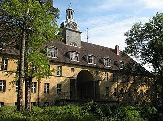 Templin - Former Electoral Brandenburgian boarding school (Joachimsthalsches Gymnasium)