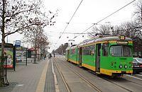 Temporary tram line 22 in Poznan (8).JPG