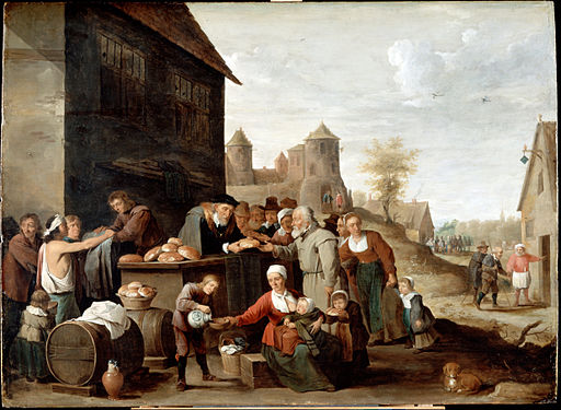 Teniers, David the younger - The Seven Corporal Works of Mercy - Google Art Project