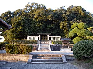 Empress Jitō - Memorial Shinto shrine and mausoleum honoring Empress Jitō