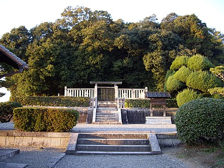 Memorial Shinto shrine and mausoleum honoring Empress Jitō