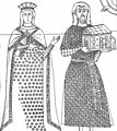 Tepčija Gradislav and his wife, Treskavac Monastery.jpg