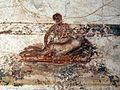 Terme di porta marina, affreschi a tema erotico nello spogliatoio, 09.jpg
