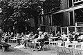 Terrasje voor hotel l Americain op Leidseplein in Amsterdam, Bestanddeelnr 932-1821.jpg