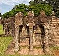Terraza de los Elefantes, Angkor Thom, Camboya, 2013-08-16, DD 01.jpg