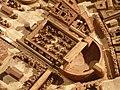 Théâtre de Pompée, Plan de Rome de Paul Bigot, université de Caen MRSH.JPG