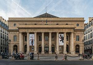 Odéon-Théâtre de l'Europe - Facade of the Odéon-Théâtre de l'Europe