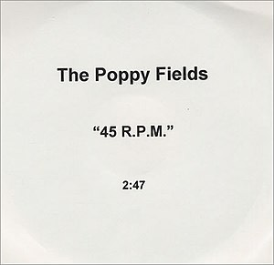 45 RPM (song) - 45 RPM promotion disc.