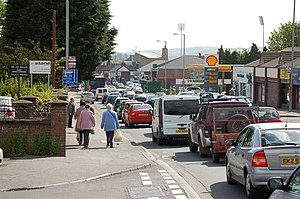 English: The Andersonstown Road This road is c...