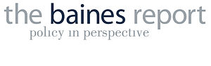 Lyndon B. Johnson School of Public Affairs - The Baines Report logo