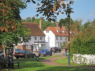 Lamberhurst village in the United Kingdom