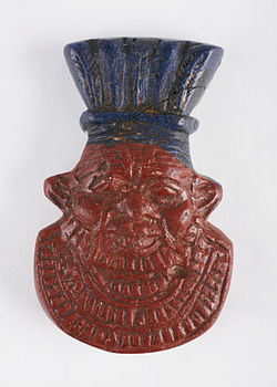 The Childrens Museum of Indianapolis - Dwarf-God Bes amulet.jpg