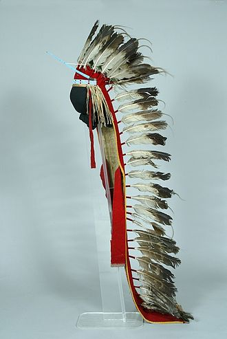 War bonnet - In the collection of the Children's Museum of Indianapolis