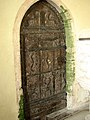 The Church of All Saints - 12th century door with ironwork - geograph.org.uk - 671959.jpg
