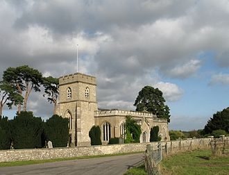 Earl of Bridgewater - St. Peter and St. Paul Church at Little Gaddesden, where many Egerton family members are buried in the Bridgewater Chapel