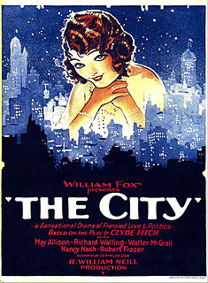 <i>The City</i> (1926 film) 1926 film