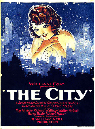 The City (1926 film) - Film poster