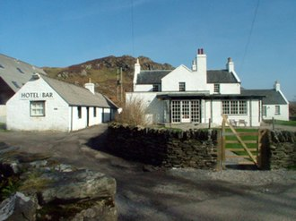 Colonsay - Colonsay Hotel, the island's only pub and hotel.