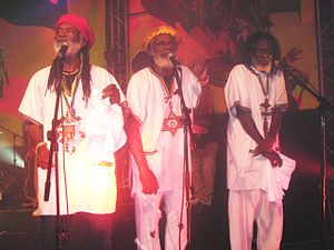 The Congos - The Congos in concert in Chartres (France) on 21 October 2006