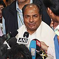 The Defence Minister, Shri A. K. Antony interacting with the media after presenting the Raksha Mantri`s awards for excellence for the year 2008-09 at a function, in New Delhi on November 10, 2010.jpg