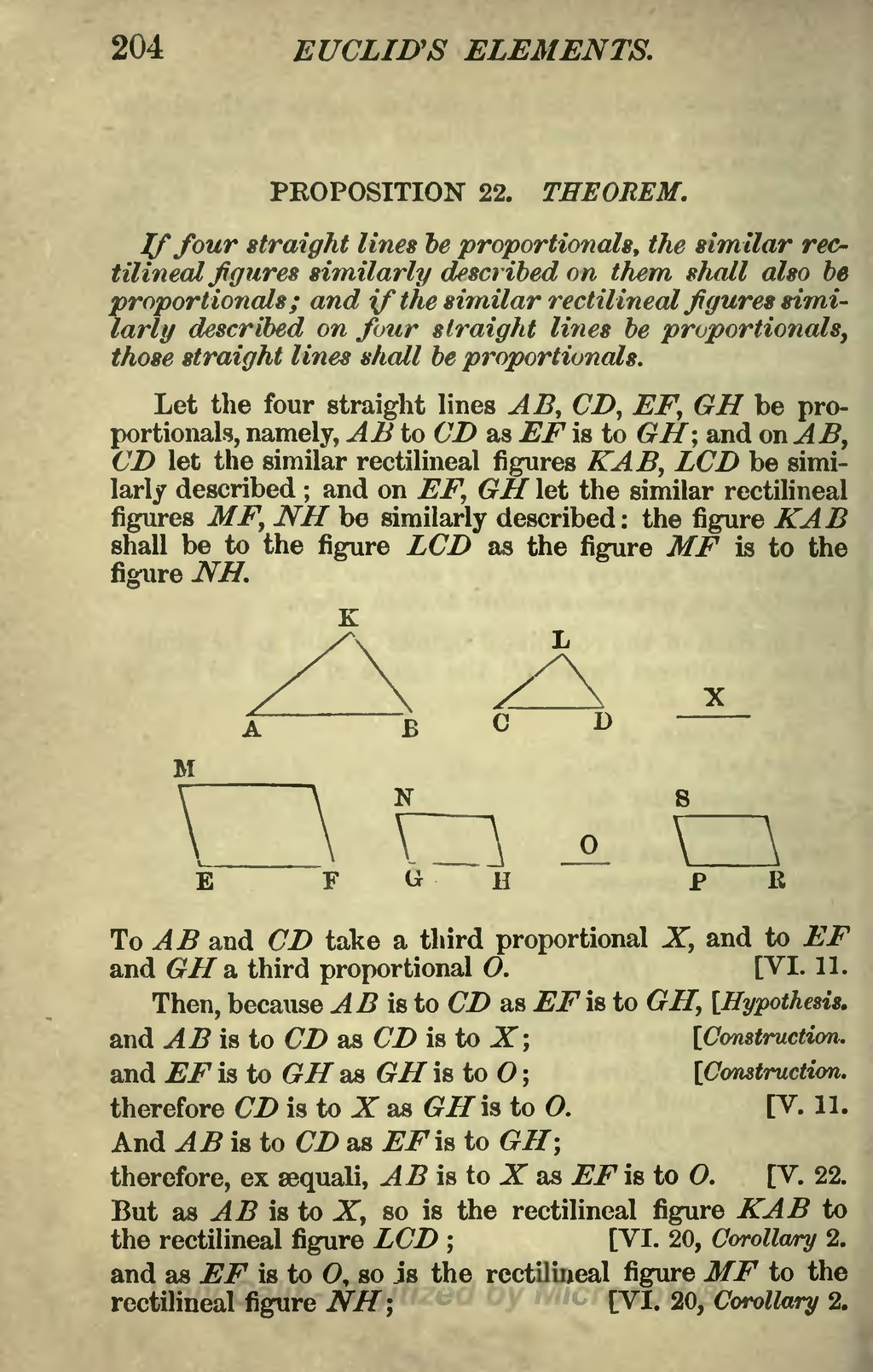 an analysis of the elements of euclid His most innovative educational work was a version of 'euclid's elements' which used coloured graphic explanations of each geometric principle it was.