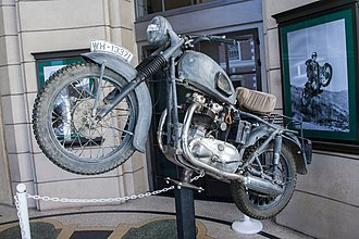 The Great Escape (film) - The motorcycle used by Ekins for stunts in the film.