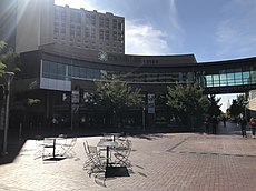 The Grove Plaza entrance to CenturyLink Arena Boise.jpg