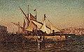 The Harbor at Malta by Louis Comfort Tiffany.jpg