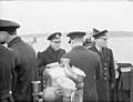 The King Pays 4-day Visit To the Home Fleet. 20 March 1943, Scapa Flow, Wearing the Uniform of An Admiral of the Fleet, the King Paid a 4-day Visit To the Home Fleet. A15255.jpg