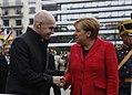 The Mayor of Buenos Aires Horacio Rodríguez Larreta gives the key to the city to Angela Merkel, June 2017 (1).jpg