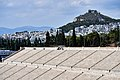 The Panathenaic Stadium and Mount Lycabettus from the Hill of Ardettus on July 12, 2019.jpg