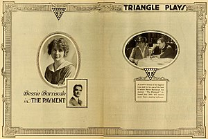 Bessie Barriscale - The Payment (1916)
