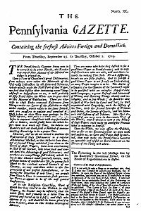 The Pennsylvania Gazette - 1729-9-25 - Project Gutenberg etext 20203.jpg