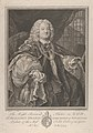 The Right Reverend Father in God, Dr. Benjamin Hoadly, Lord Bishop of Winchester, Prelate of the Most Noble Order of the Garter, Aet. 67. A.D. 1743 MET DP835453.jpg