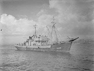 Minesweeper Vessel for removing naval mines
