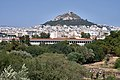 The Stoa of Attalus and Mount Lycabettus on July 7, 2019.jpg