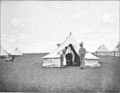 The Tale of a Field Hospital 1900 - Face page 20 - The operation tent of No. 4 Field Hospital.png